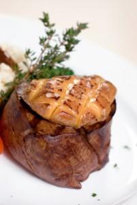 BBQ Filet Mignon & Foie Gras